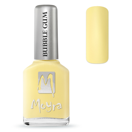 MOYRA BUBBLE GUM EFFECT KÖRÖMLAKK 622 Limoncello 12 ml