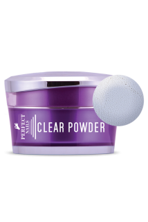 Perfect Nails színtelen porcelán por - Clear Powder 30ml