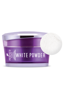 Perfect Nails fehér porcelán por - White powder 30ml