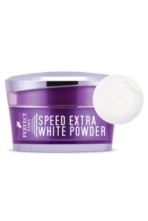 Perfect Nails Extra Fehér porcelán por - Speed Extra White  50ml