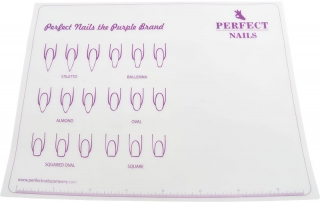 Perfect Nails Szilikon munkalap - clear