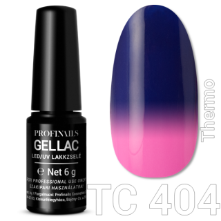 Profinails Gel Lac LED/UV lakkzselé 6gr No.404 (TC series)