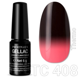 Profinails Gel Lac LED/UV lakkzselé 6gr No.408 (TC series)