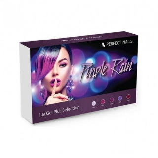 Perfect Nails LACGEL PLUS - PURPLE RAIN GÉL LAKK SZETT