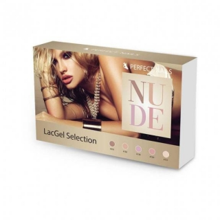 Perfect Nails LACGEL NUDE GÉL LAKK SZETT